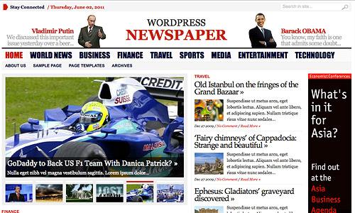 advacned newspaper wordpress template
