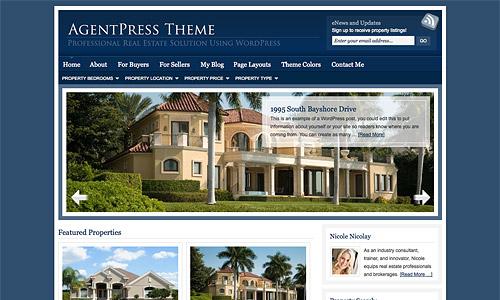 agentpress wordpress template