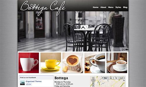 bottega wordpress template