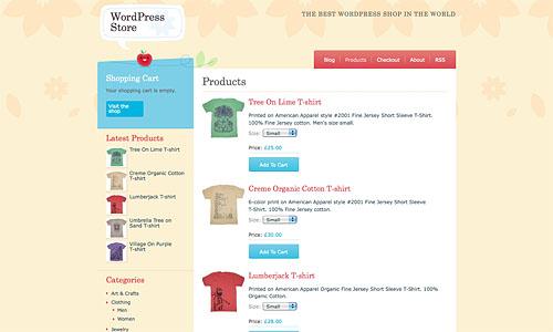 craft cart wordpress template