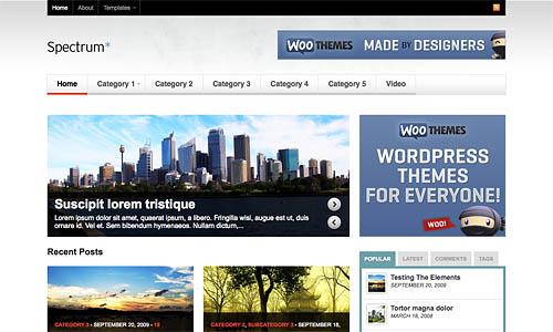 inspire wordpress template