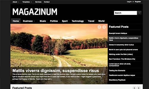 magazinum wordpress template