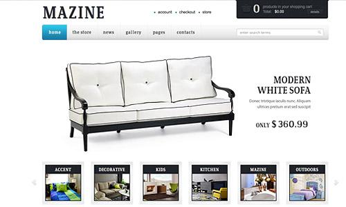 mazine wp ecommerce wordpress template