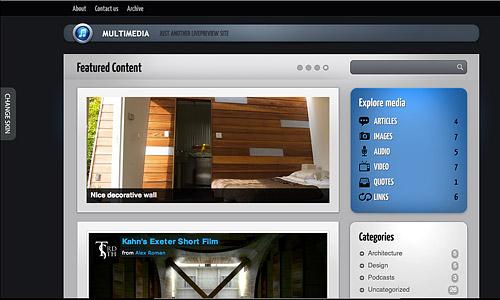 multimediawp wordpress template