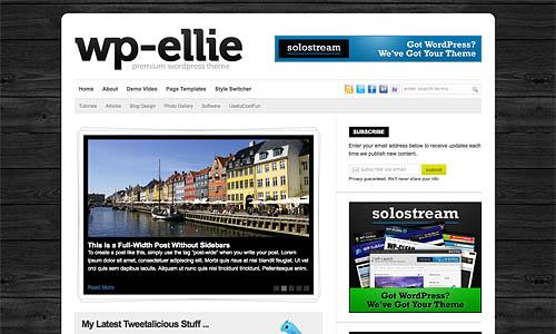 wp ellie wordpress template