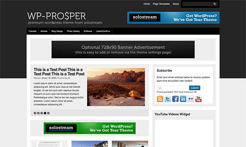 wp prosper wordpress template