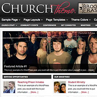 church wordpress templates