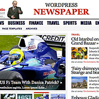 news wordpress templates