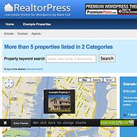real estate wordpress templates