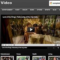 video wordpress templates